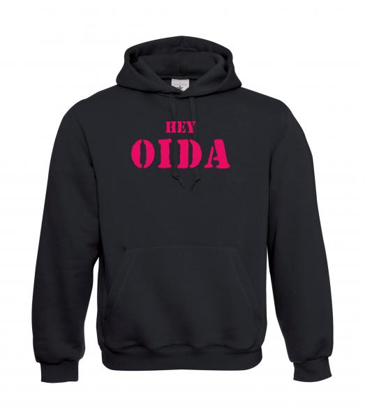 Hoody unisex HEY OIDA
