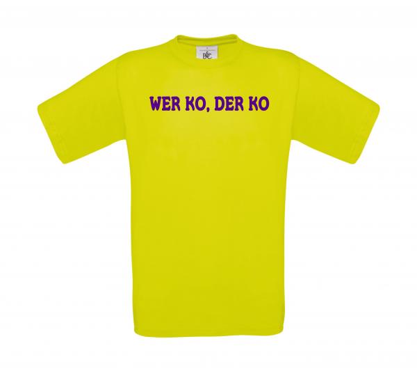 T-Shirt WER KO DER KO