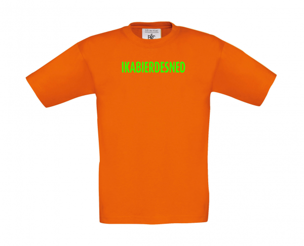 Kinder T-Shirt IKABIERDESNED