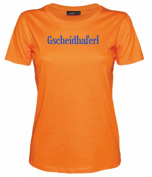 Damen T-Shirt Gscheidhaferl