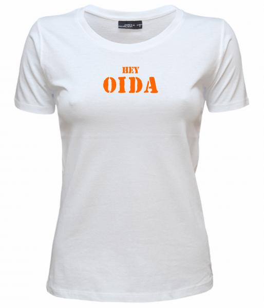 Damen T-Shirt HEY OIDA