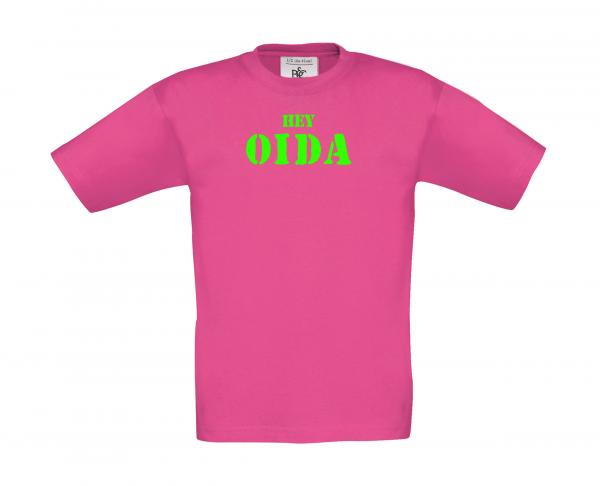 Kinder T-Shirt HEY OIDA