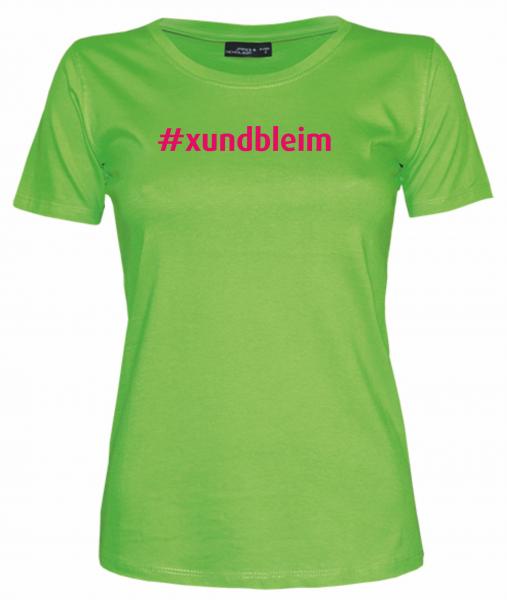 Damen T-Shirt #xundbleim